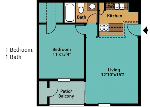 1-Bedroom,-1-Bath-1-NEW
